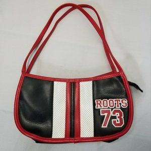 Vintage Roots 73 Small Arm Purse Black Red White
